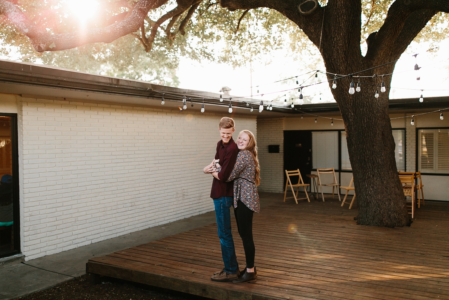 Kayla + Alex _ a joyful and loving engagement shoot in Waco, Texas by North Texas Wedding Photographer Rachel Meagan Photography _15