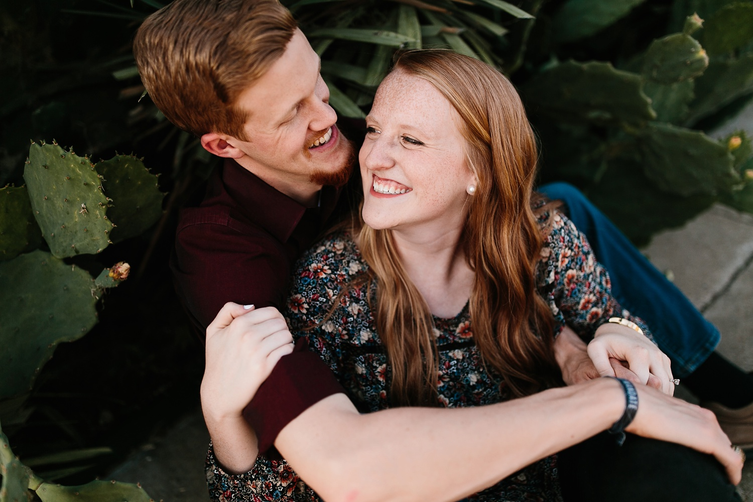 Kayla + Alex _ a joyful and loving engagement shoot in Waco, Texas by North Texas Wedding Photographer Rachel Meagan Photography _25