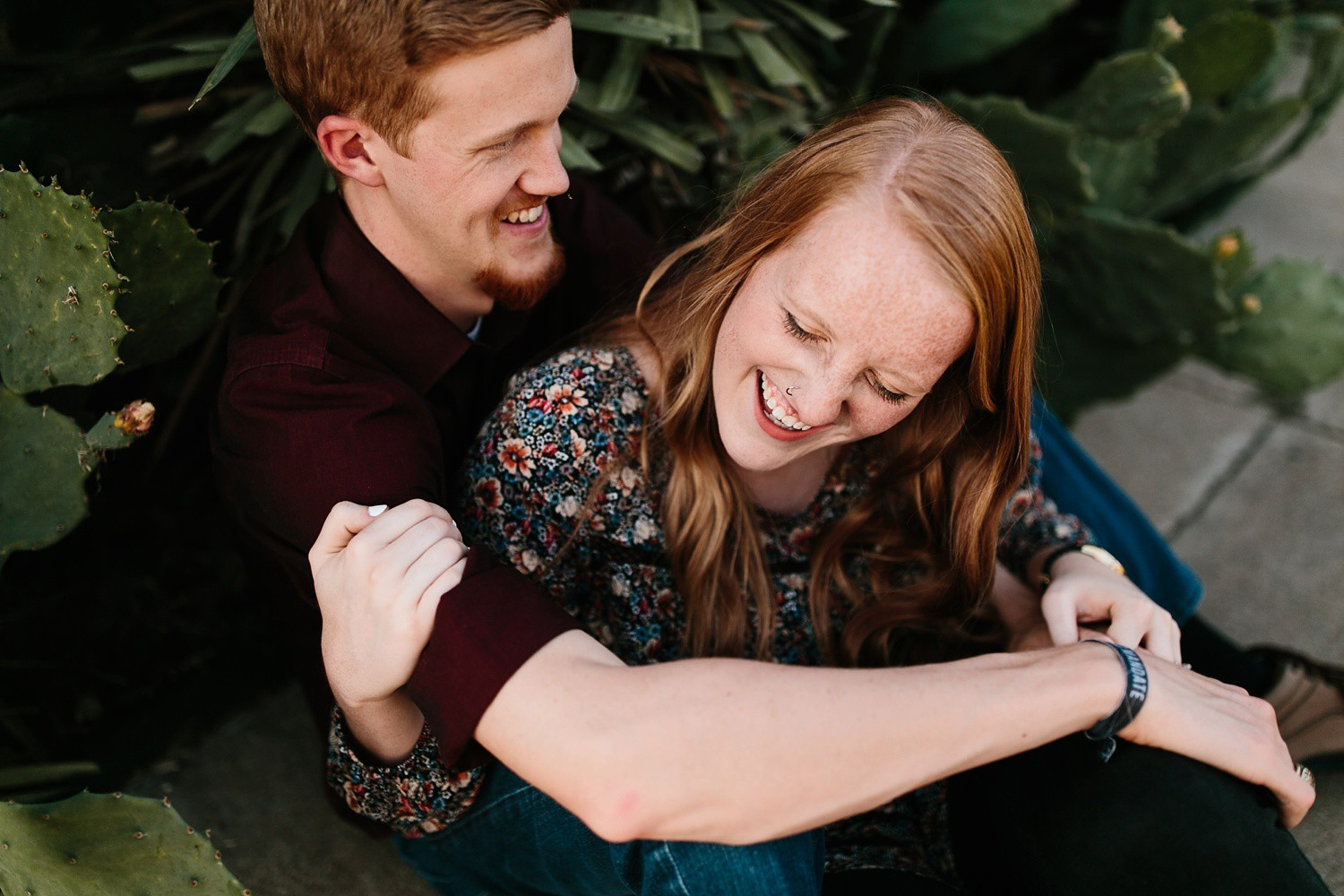 Kayla + Alex | a Waco engagement session