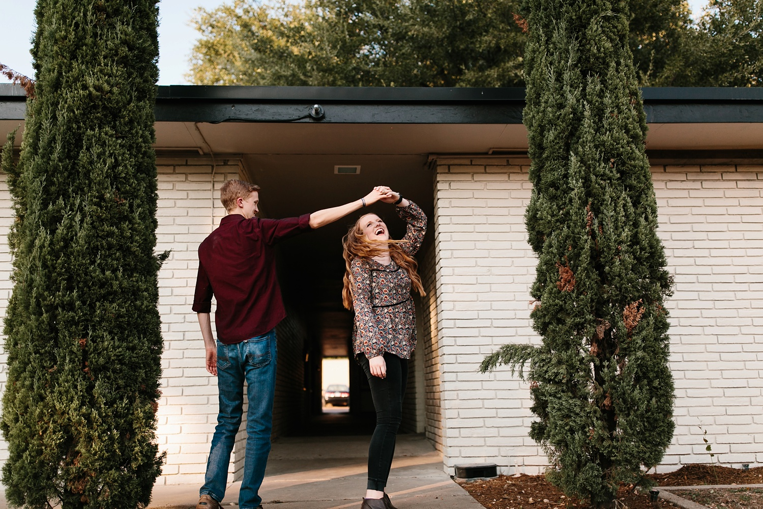 Kayla + Alex _ a joyful and loving engagement shoot in Waco, Texas by North Texas Wedding Photographer Rachel Meagan Photography _27