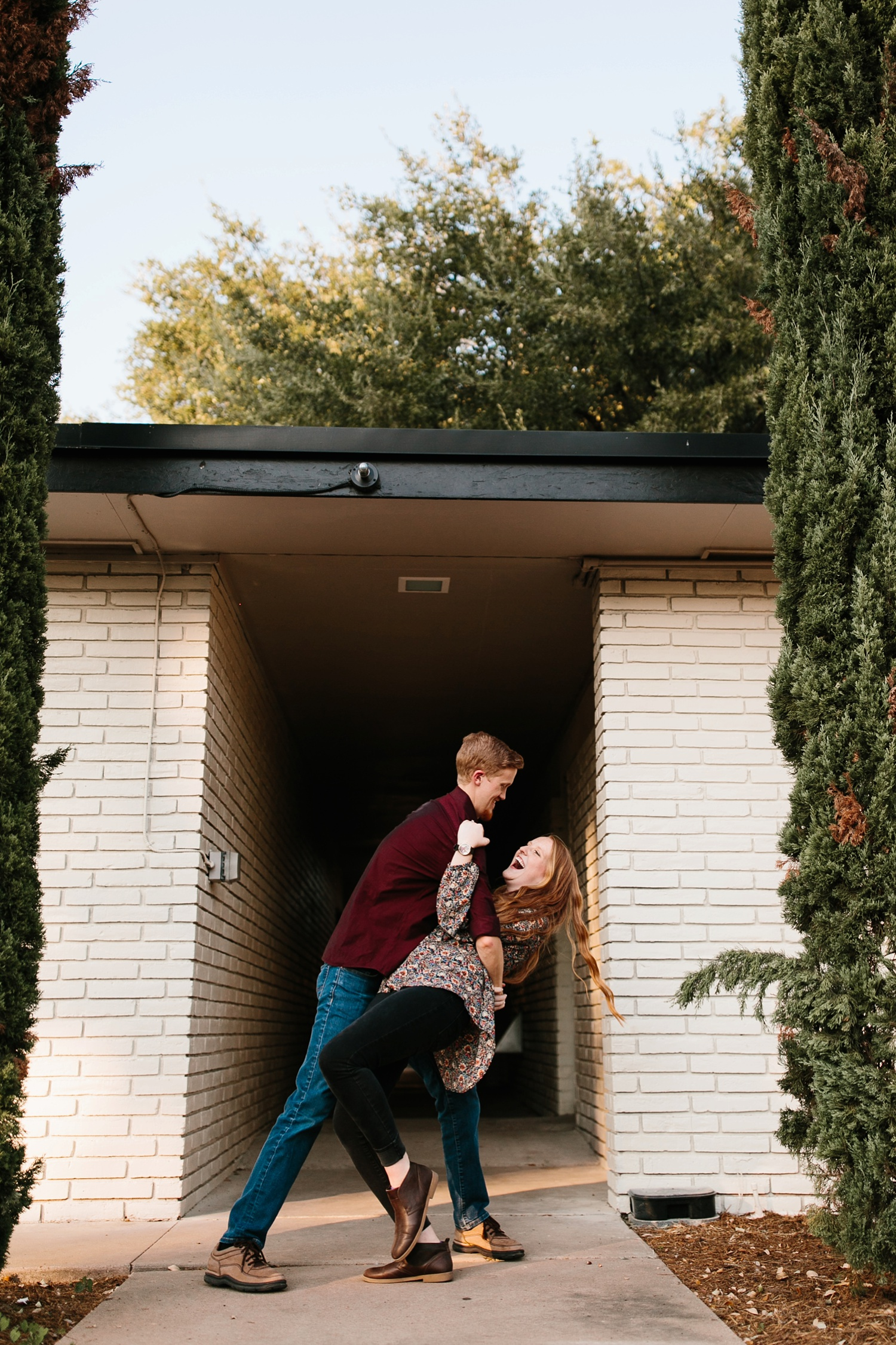 Kayla + Alex _ a joyful and loving engagement shoot in Waco, Texas by North Texas Wedding Photographer Rachel Meagan Photography _28