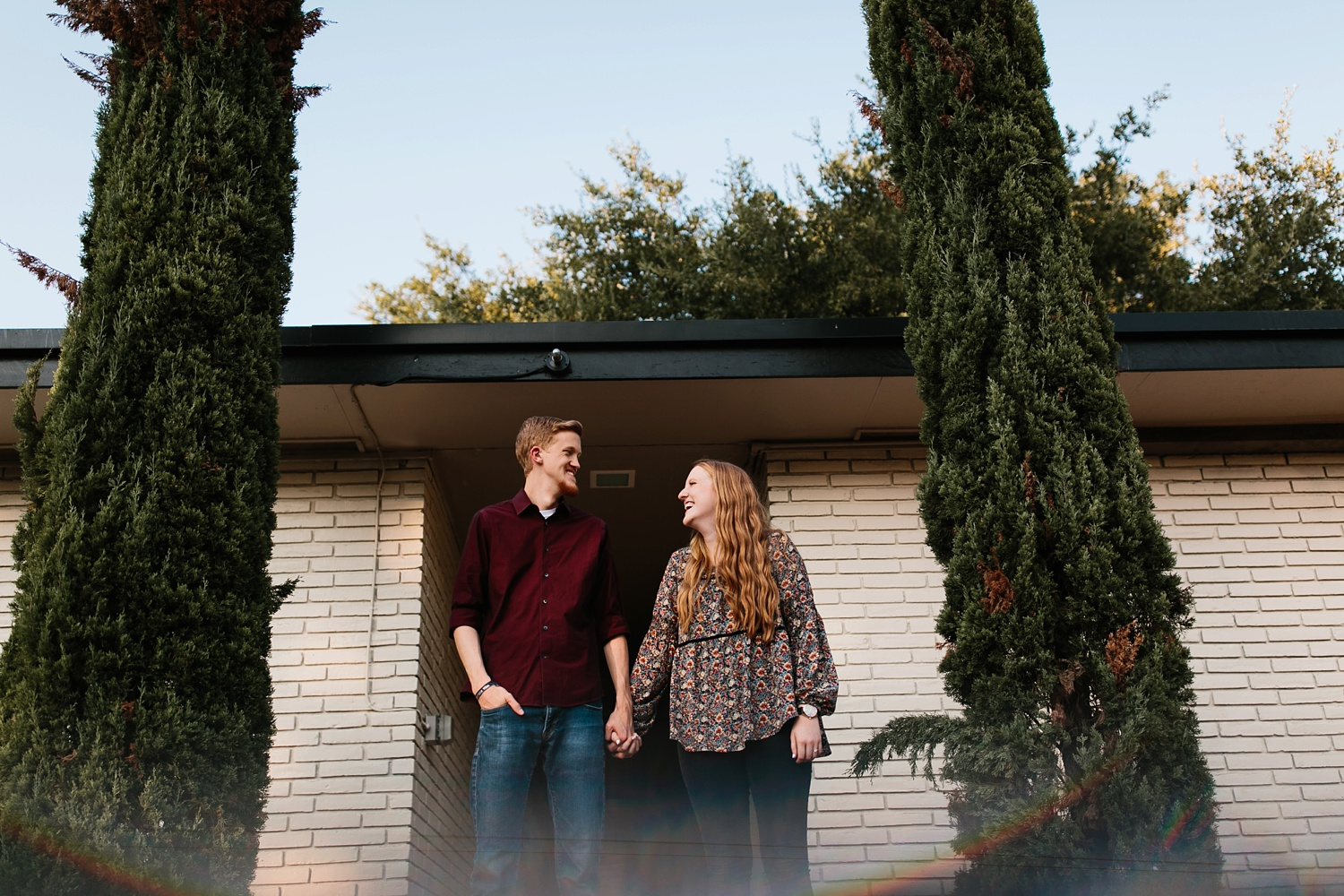 Kayla + Alex _ a joyful and loving engagement shoot in Waco, Texas by North Texas Wedding Photographer Rachel Meagan Photography _29