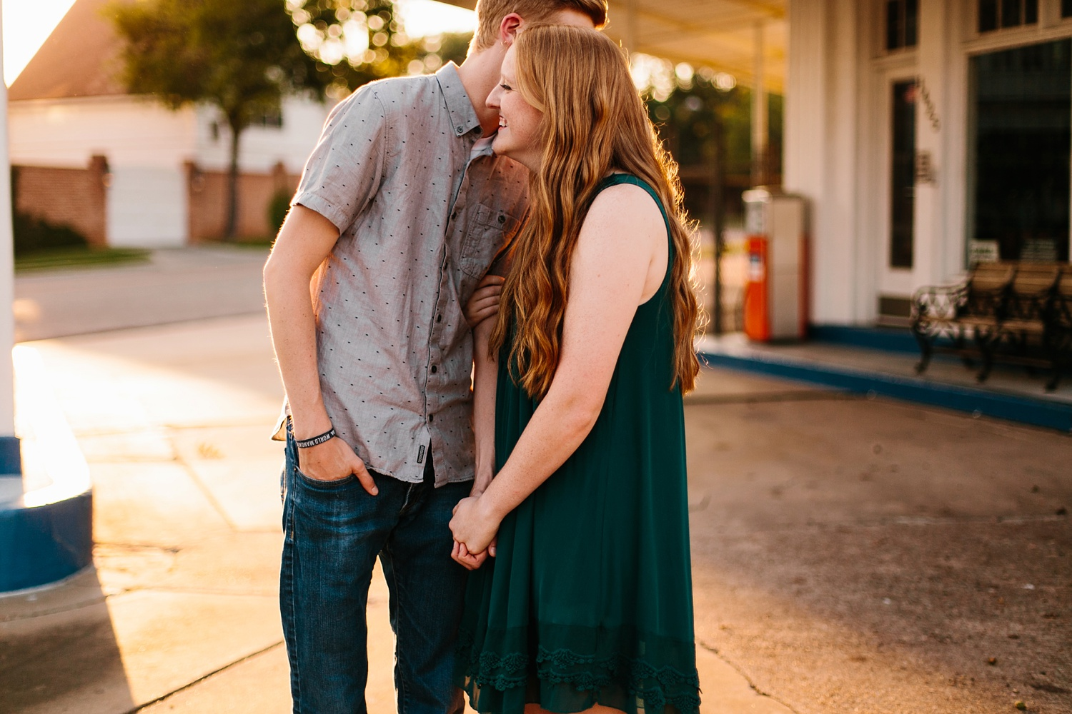 Kayla + Alex _ a joyful and loving engagement shoot in Waco, Texas by North Texas Wedding Photographer Rachel Meagan Photography _40