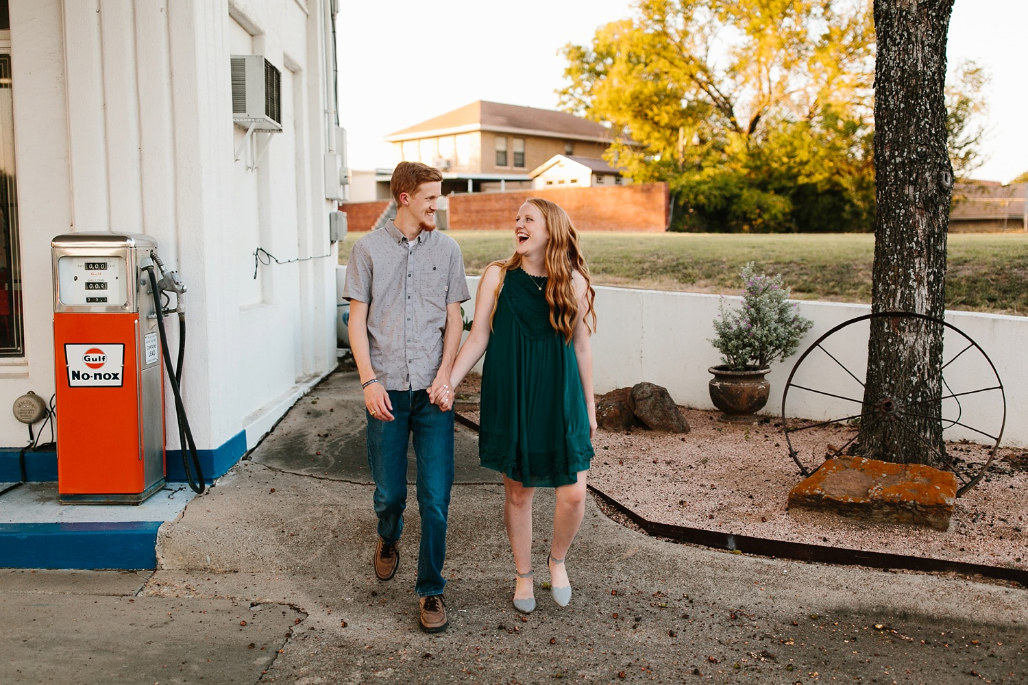 Kayla + Alex _ a joyful and loving engagement shoot in Waco, Texas by North Texas Wedding Photographer Rachel Meagan Photography _44