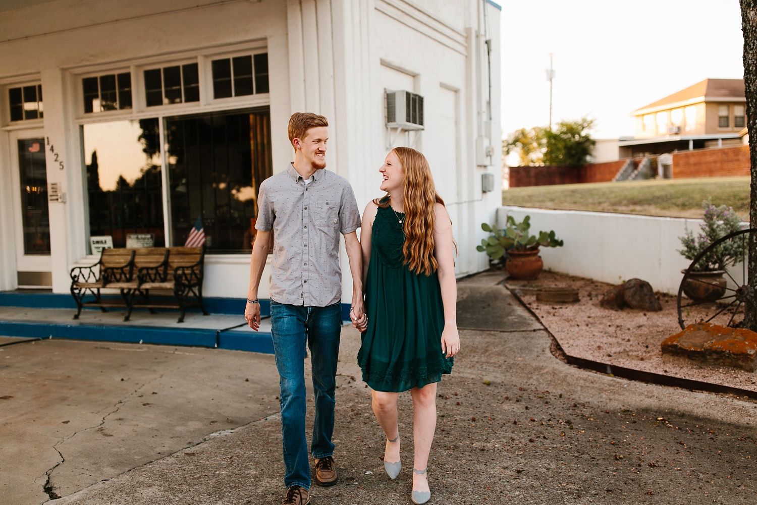 Kayla + Alex _ a joyful and loving engagement shoot in Waco, Texas by North Texas Wedding Photographer Rachel Meagan Photography _45
