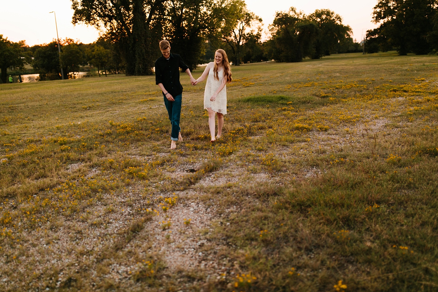 Kayla + Alex _ a joyful and loving engagement shoot in Waco, Texas by North Texas Wedding Photographer Rachel Meagan Photography _53