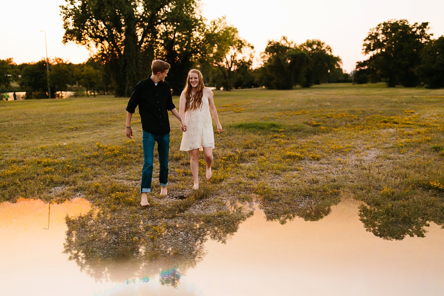 Kayla + Alex _ a joyful and loving engagement shoot in Waco, Texas by North Texas Wedding Photographer Rachel Meagan Photography _54