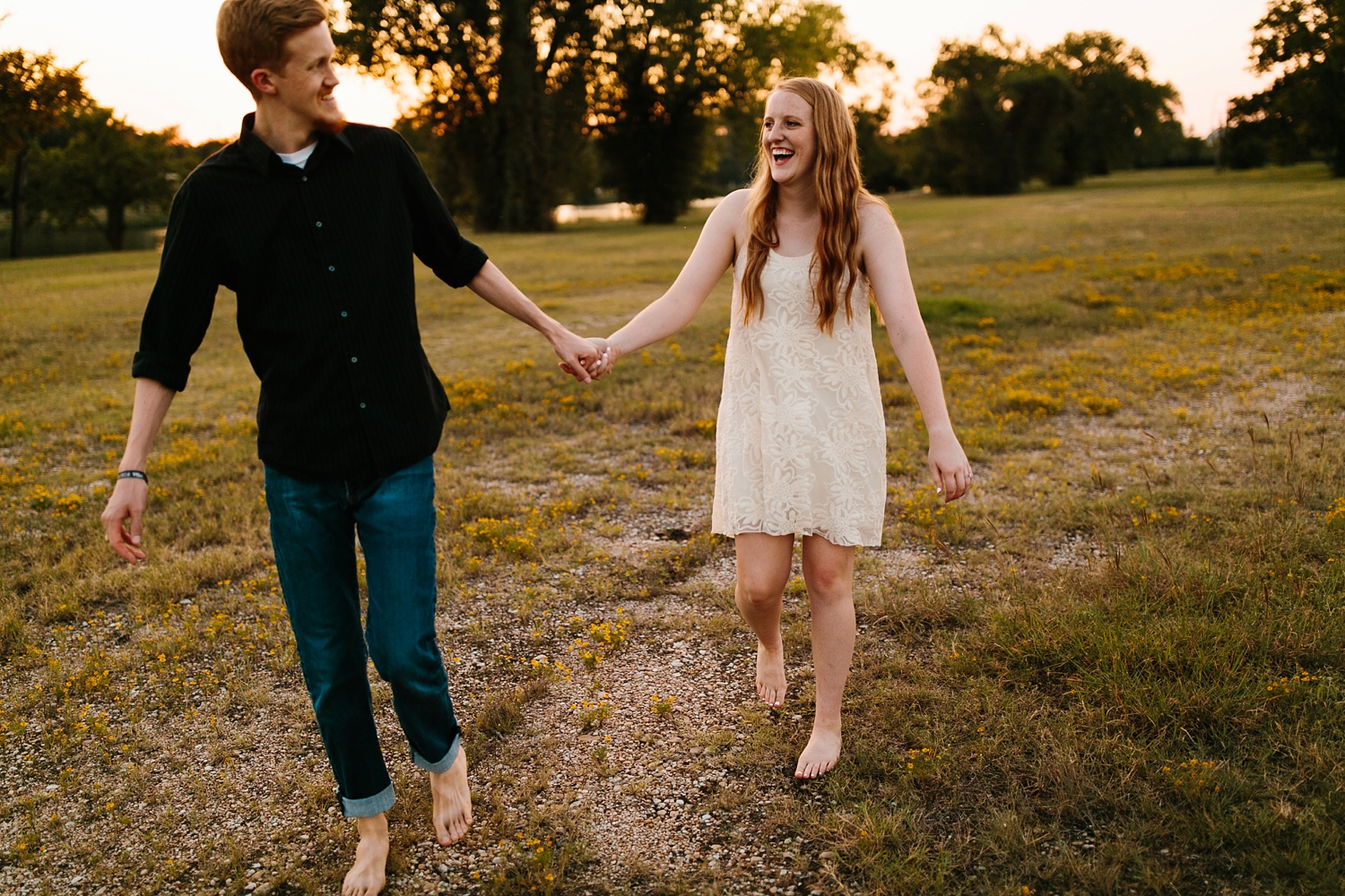 Kayla + Alex _ a joyful and loving engagement shoot in Waco, Texas by North Texas Wedding Photographer Rachel Meagan Photography _55