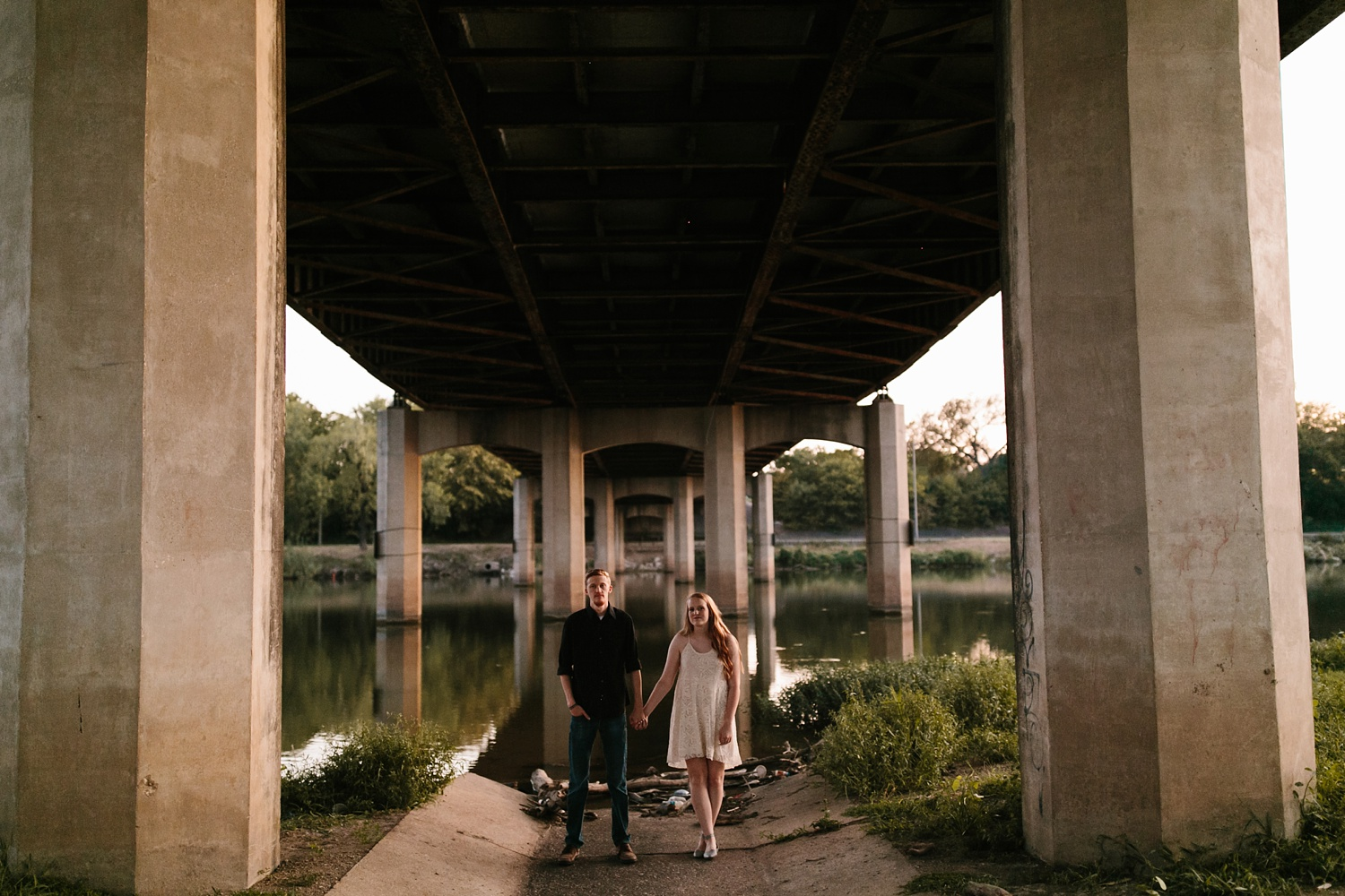 Kayla + Alex _ a joyful and loving engagement shoot in Waco, Texas by North Texas Wedding Photographer Rachel Meagan Photography _66