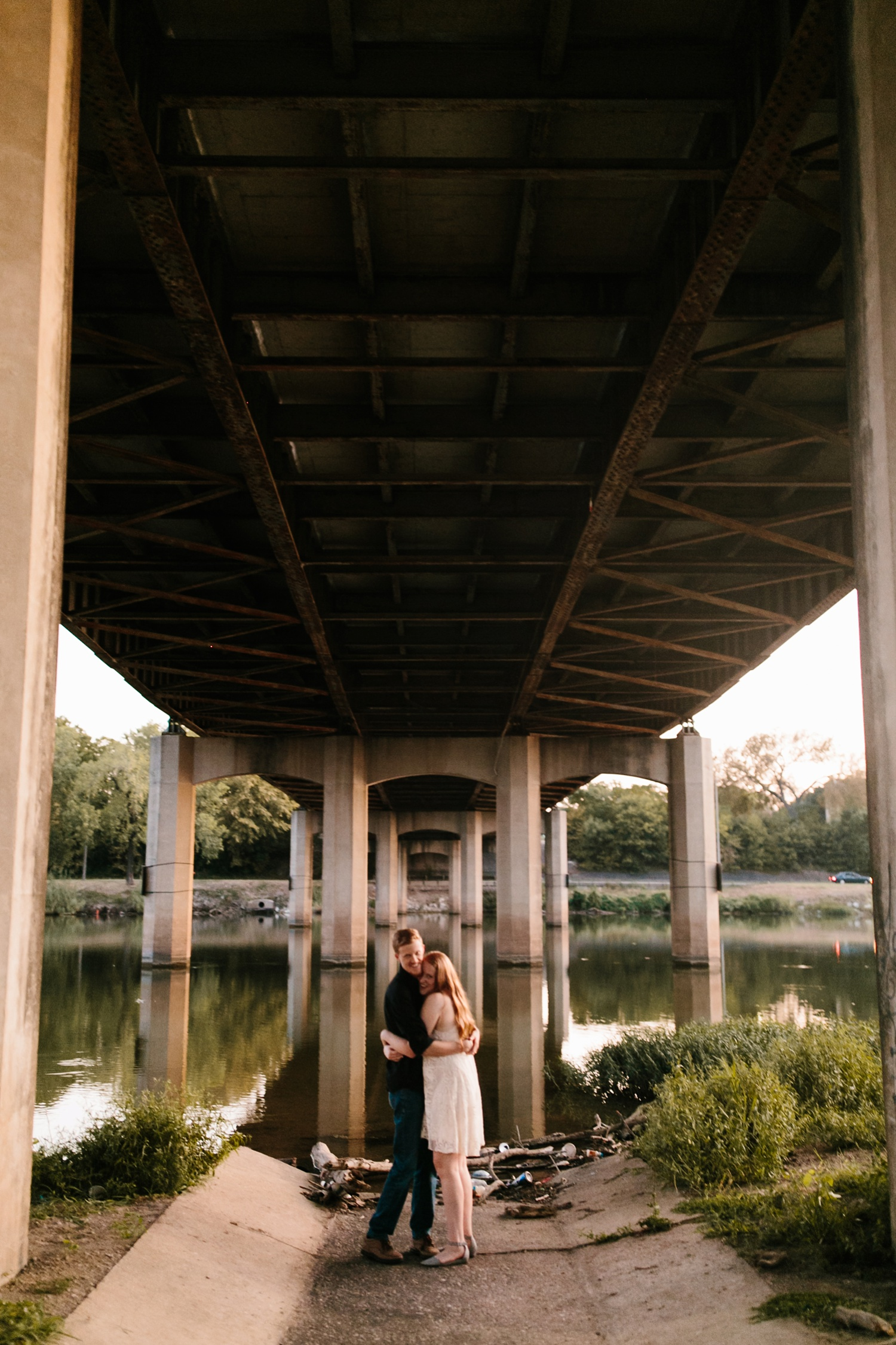 Kayla + Alex _ a joyful and loving engagement shoot in Waco, Texas by North Texas Wedding Photographer Rachel Meagan Photography _67