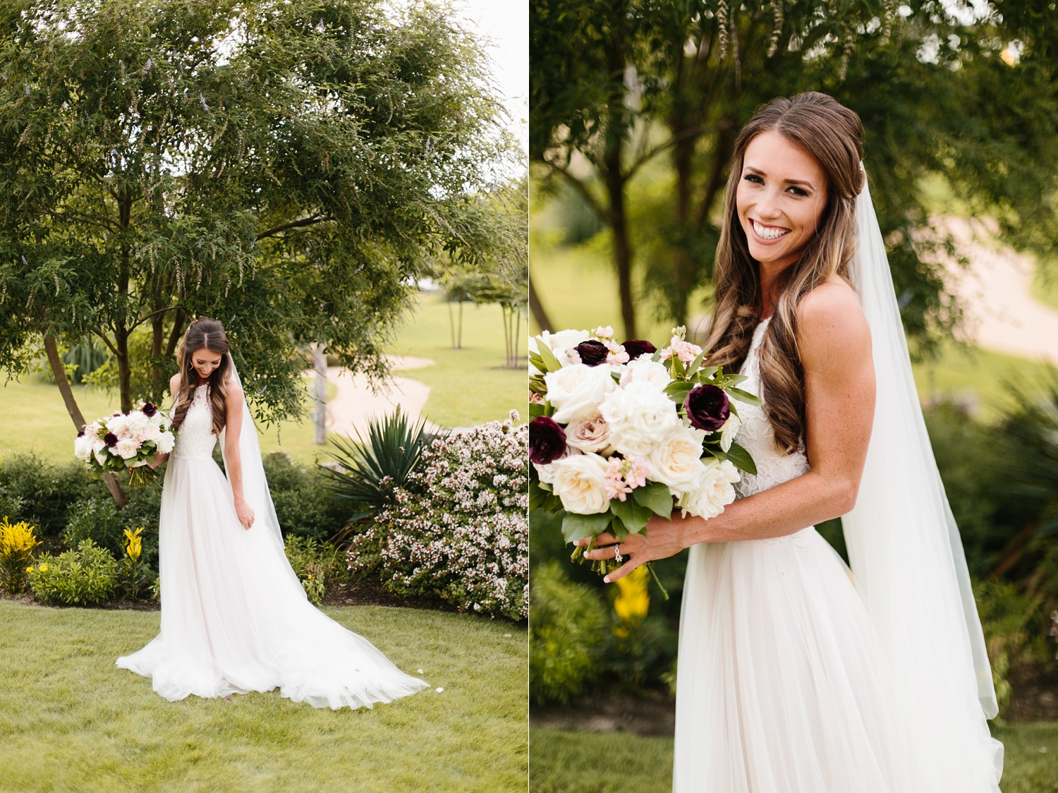 a passionate, emotion filled summer wedding with with navy and burgandy accents at The Brooks at Weatherford by North Texas Wedding Photographer, Rachel Meagan Photography _015