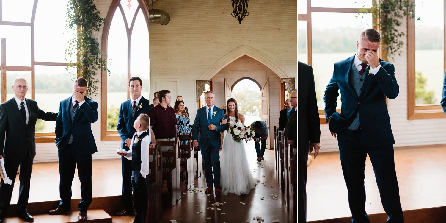 a passionate, emotion filled summer wedding with with navy and burgandy accents at The Brooks at Weatherford by North Texas Wedding Photographer, Rachel Meagan Photography _047