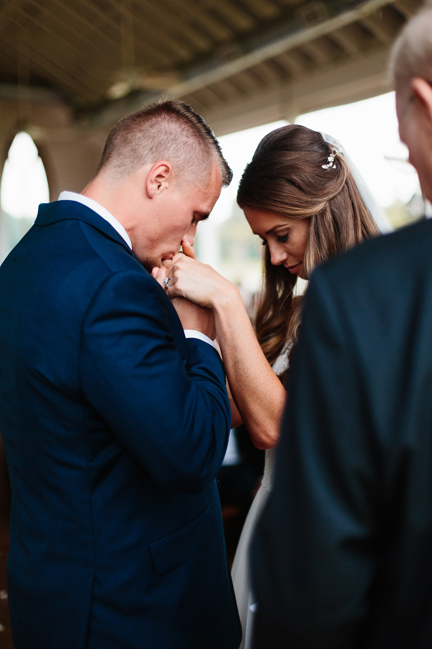 a passionate, emotion filled summer wedding with with navy and burgandy accents at The Brooks at Weatherford by North Texas Wedding Photographer, Rachel Meagan Photography _054