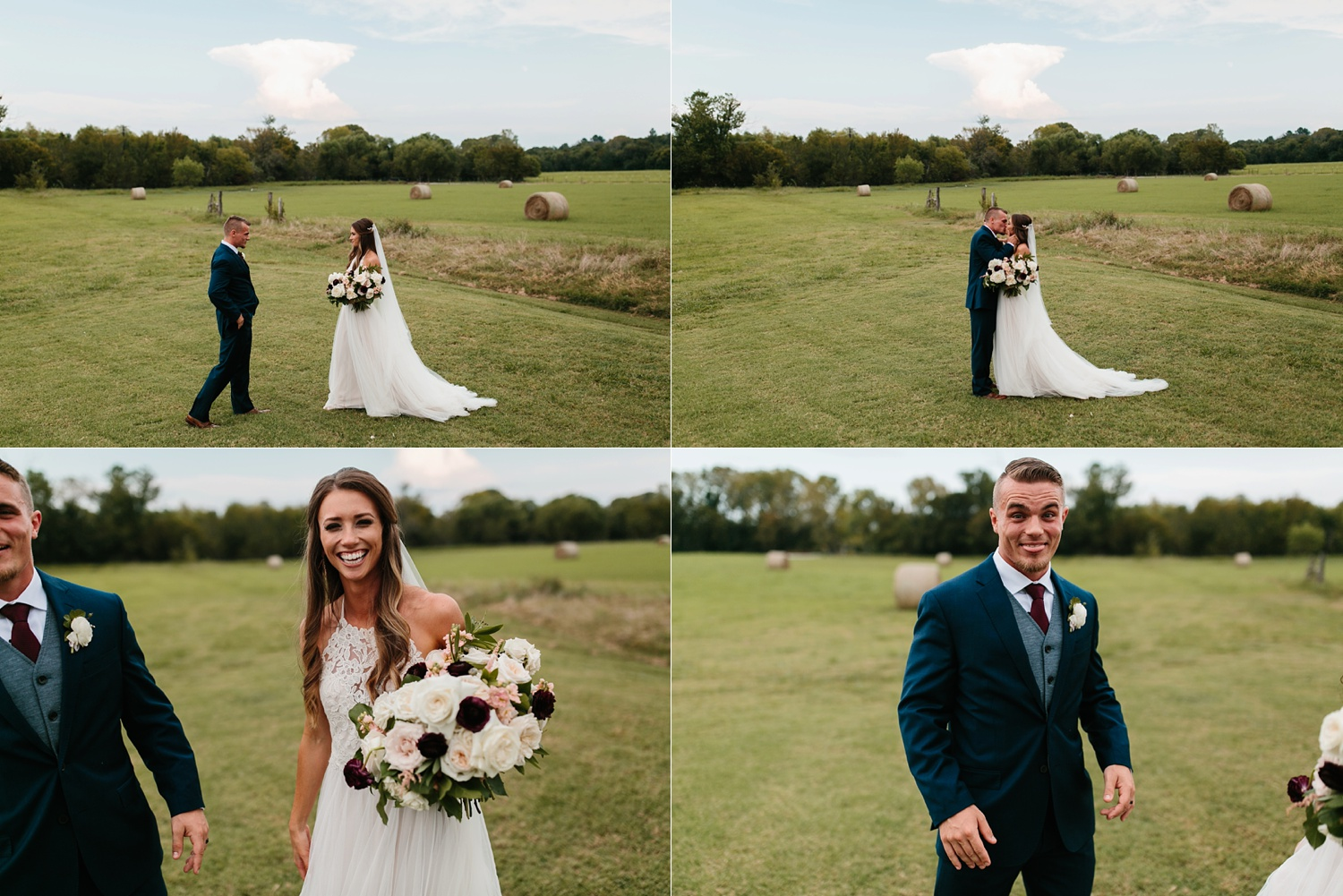 a passionate, emotion filled summer wedding with with navy and burgandy accents at The Brooks at Weatherford by North Texas Wedding Photographer, Rachel Meagan Photography _064