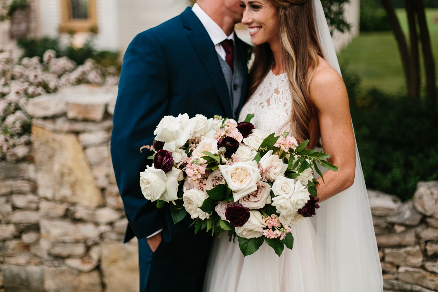a passionate, emotion filled summer wedding with with navy and burgandy accents at The Brooks at Weatherford by North Texas Wedding Photographer, Rachel Meagan Photography _072