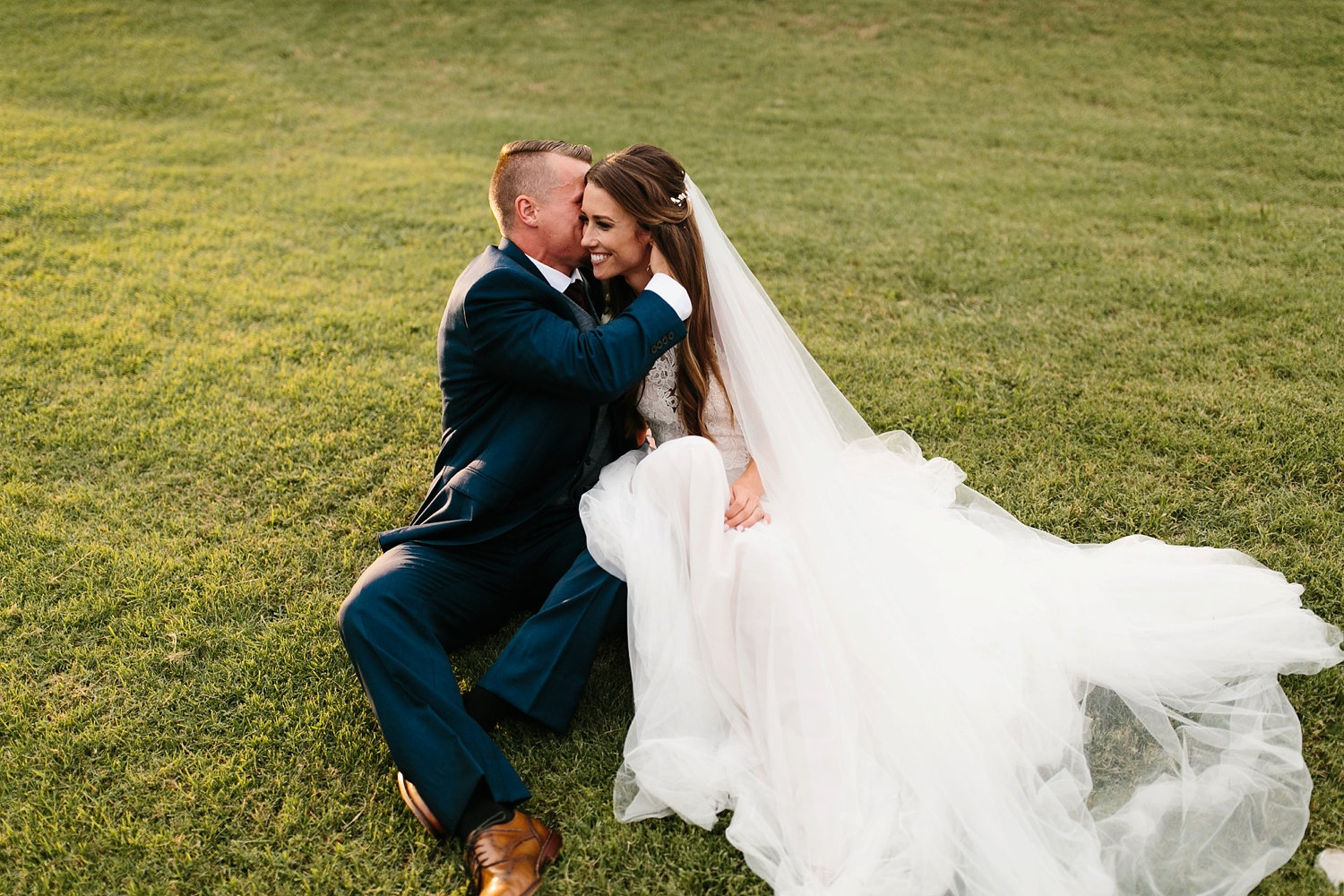 a passionate, emotion filled summer wedding with with navy and burgandy accents at The Brooks at Weatherford by North Texas Wedding Photographer, Rachel Meagan Photography _093