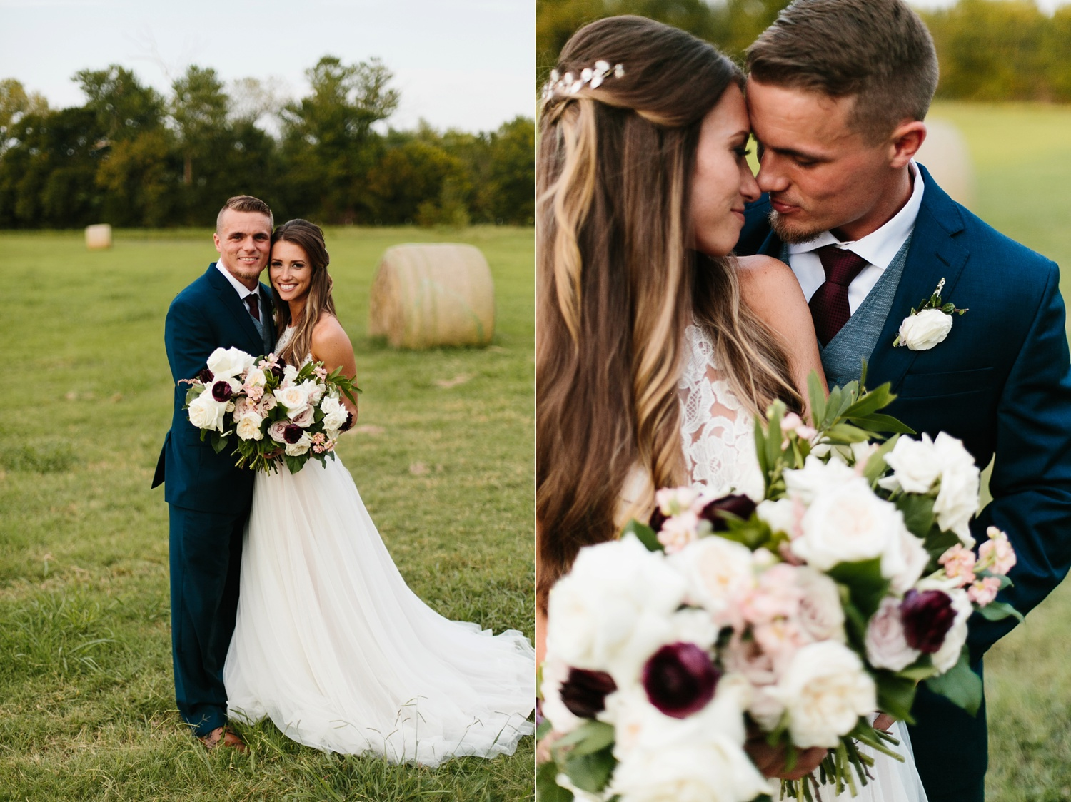 a passionate, emotion filled summer wedding with with navy and burgandy accents at The Brooks at Weatherford by North Texas Wedding Photographer, Rachel Meagan Photography _102