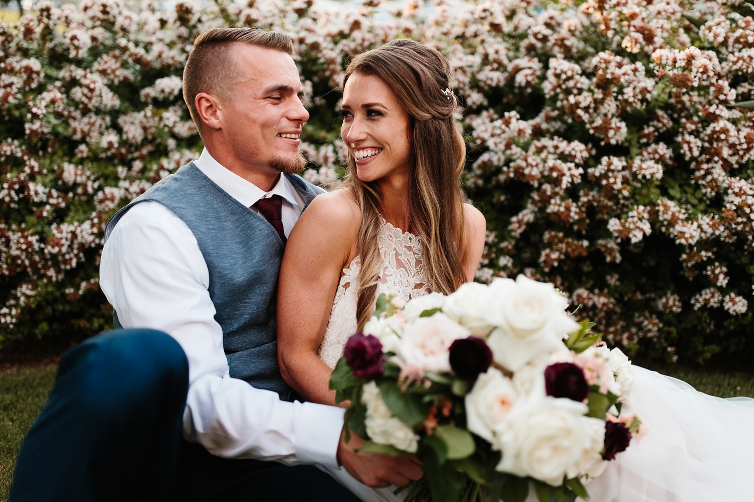 a passionate, emotion filled summer wedding with with navy and burgandy accents at The Brooks at Weatherford by North Texas Wedding Photographer, Rachel Meagan Photography _109