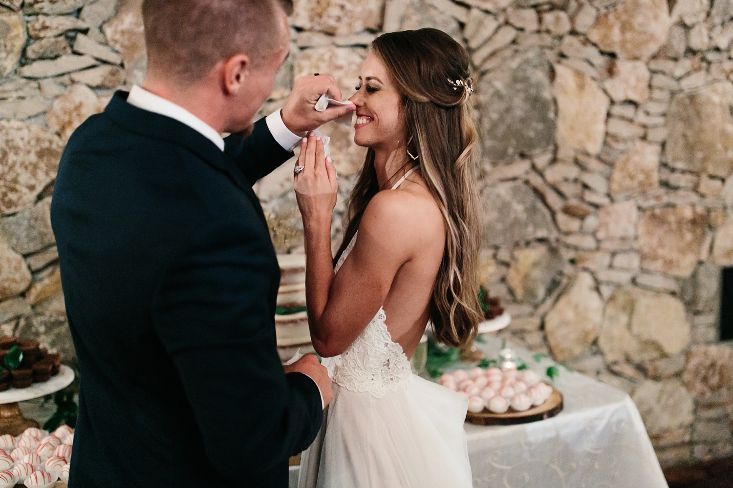 a passionate, emotion filled summer wedding with with navy and burgandy accents at The Brooks at Weatherford by North Texas Wedding Photographer, Rachel Meagan Photography _135