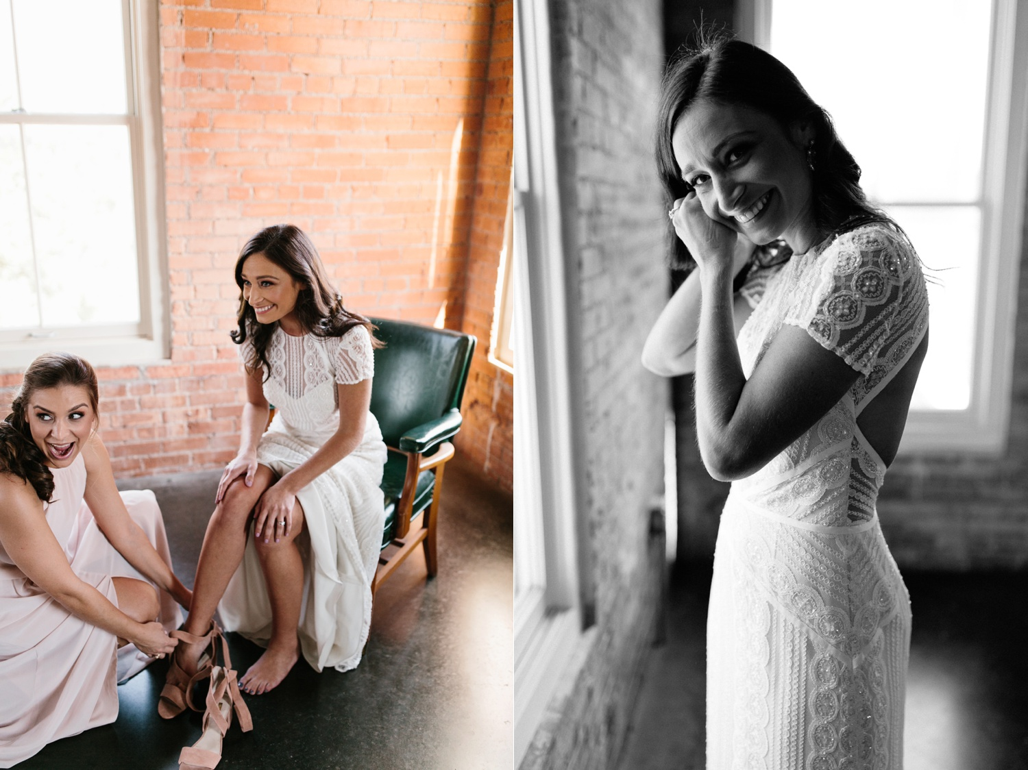 Kadee + Tyler | a raw, emotional wedding at the Filter Building on White Rock Lake in Dallas, TX by North Texas Wedding Photographer, Rachel Meagan Photography 023