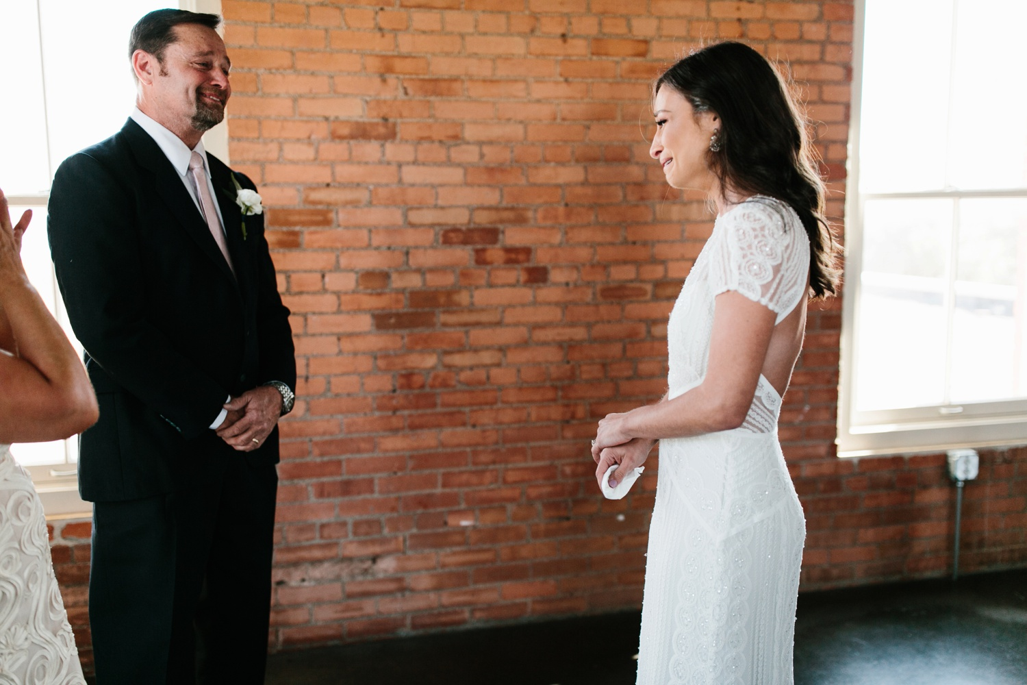Kadee + Tyler | a raw, emotional wedding at the Filter Building on White Rock Lake in Dallas, TX by North Texas Wedding Photographer, Rachel Meagan Photography 029