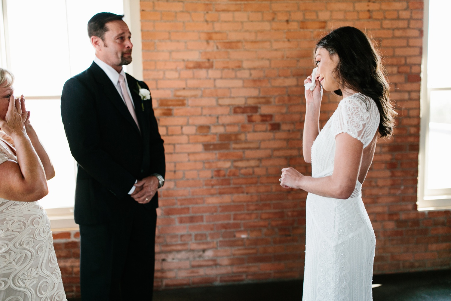 Kadee + Tyler | a raw, emotional wedding at the Filter Building on White Rock Lake in Dallas, TX by North Texas Wedding Photographer, Rachel Meagan Photography 030
