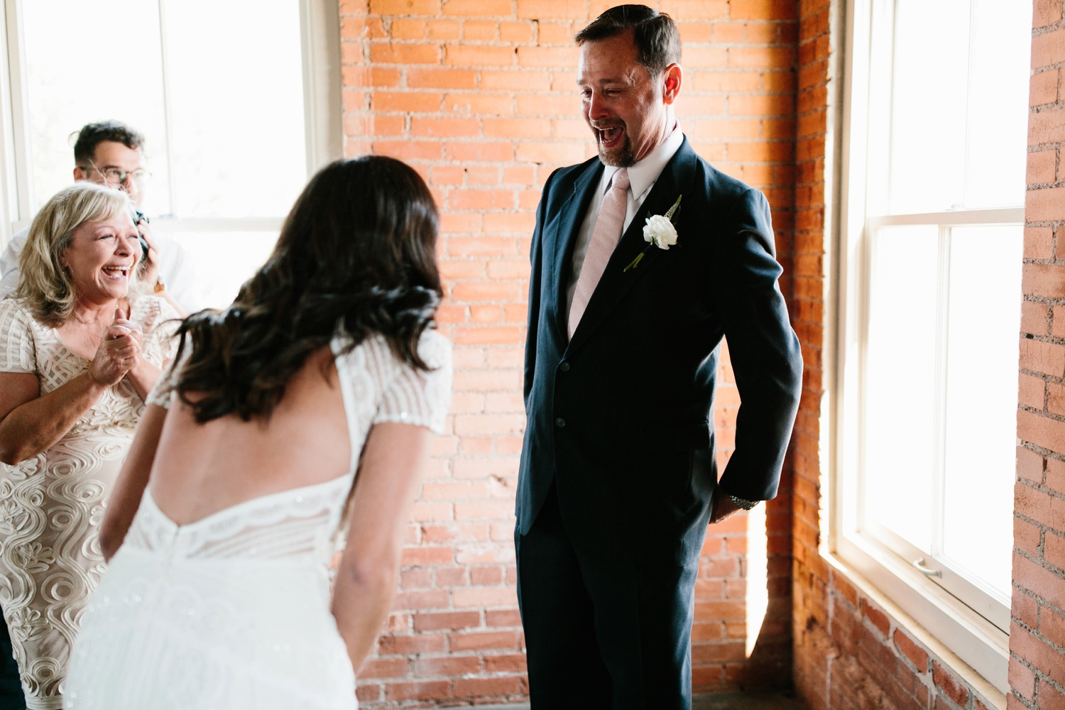 Kadee + Tyler | a raw, emotional wedding at the Filter Building on White Rock Lake in Dallas, TX by North Texas Wedding Photographer, Rachel Meagan Photography 032
