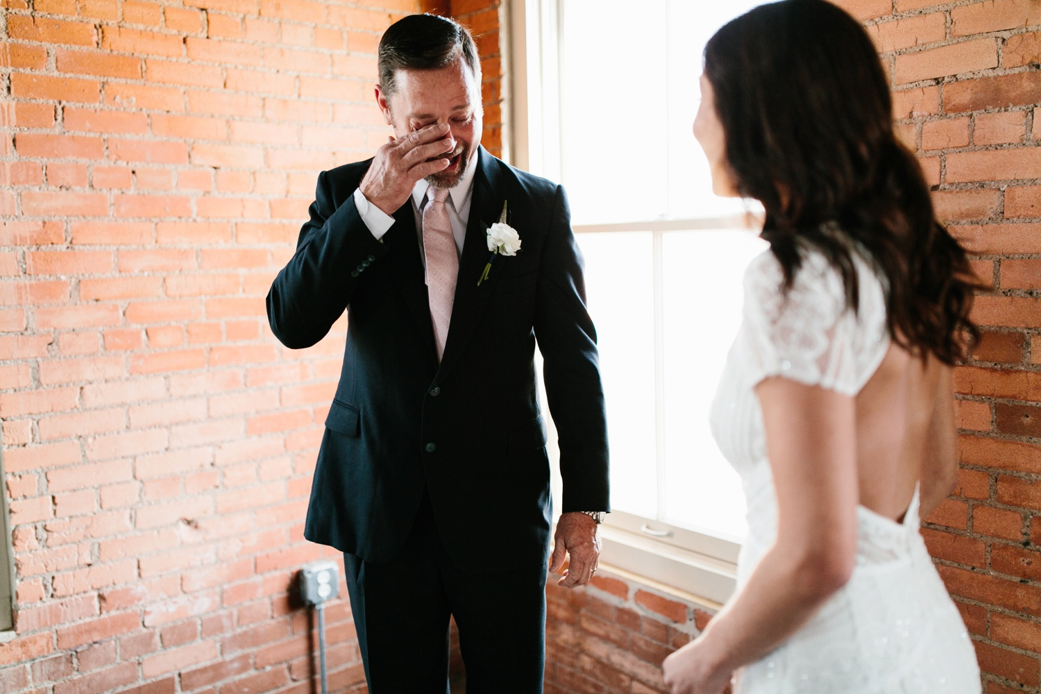 Kadee + Tyler | a raw, emotional wedding at the Filter Building on White Rock Lake in Dallas, TX by North Texas Wedding Photographer, Rachel Meagan Photography 033