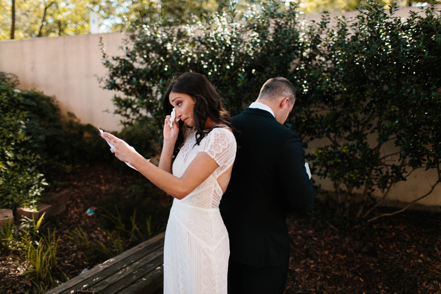 Kadee + Tyler | a raw, emotional wedding at the Filter Building on White Rock Lake in Dallas, TX by North Texas Wedding Photographer, Rachel Meagan Photography 045