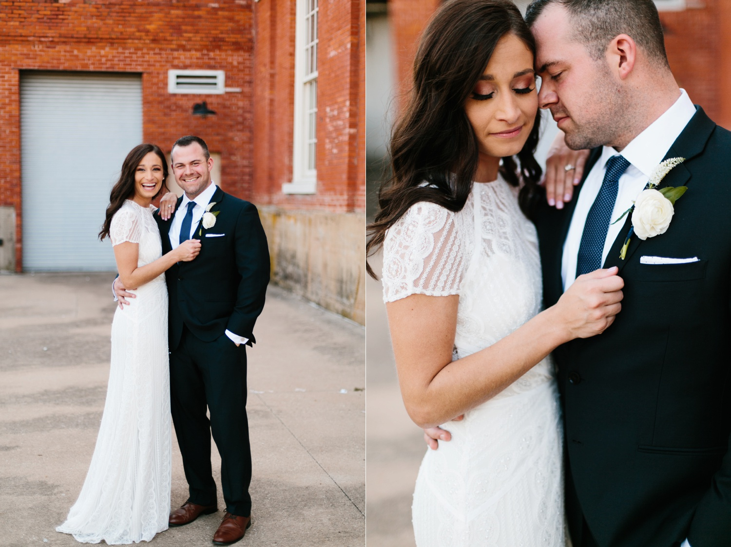 Kadee + Tyler | a raw, emotional wedding at the Filter Building on White Rock Lake in Dallas, TX by North Texas Wedding Photographer, Rachel Meagan Photography 083