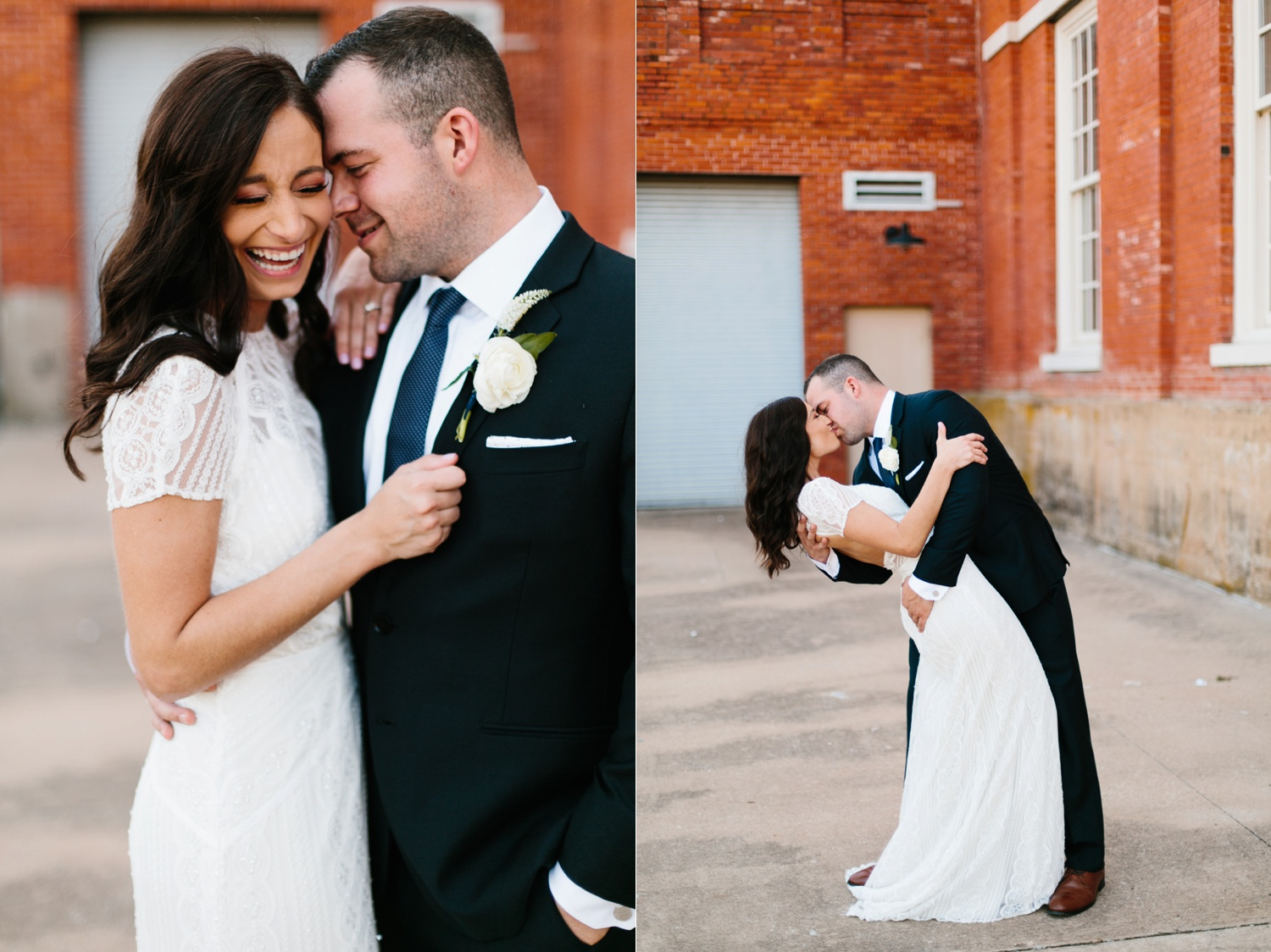 Kadee + Tyler | a raw, emotional wedding at the Filter Building on White Rock Lake in Dallas, TX by North Texas Wedding Photographer, Rachel Meagan Photography 084