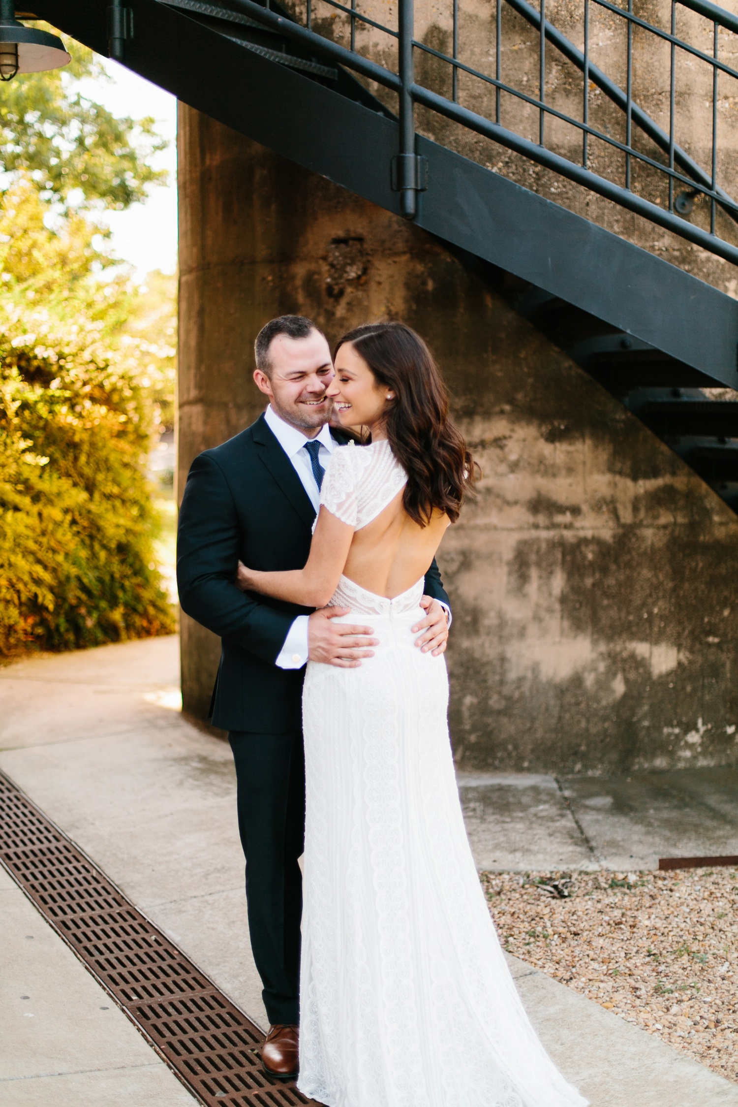 Kadee + Tyler | a raw, emotional wedding at the Filter Building on White Rock Lake in Dallas, TX by North Texas Wedding Photographer, Rachel Meagan Photography 085
