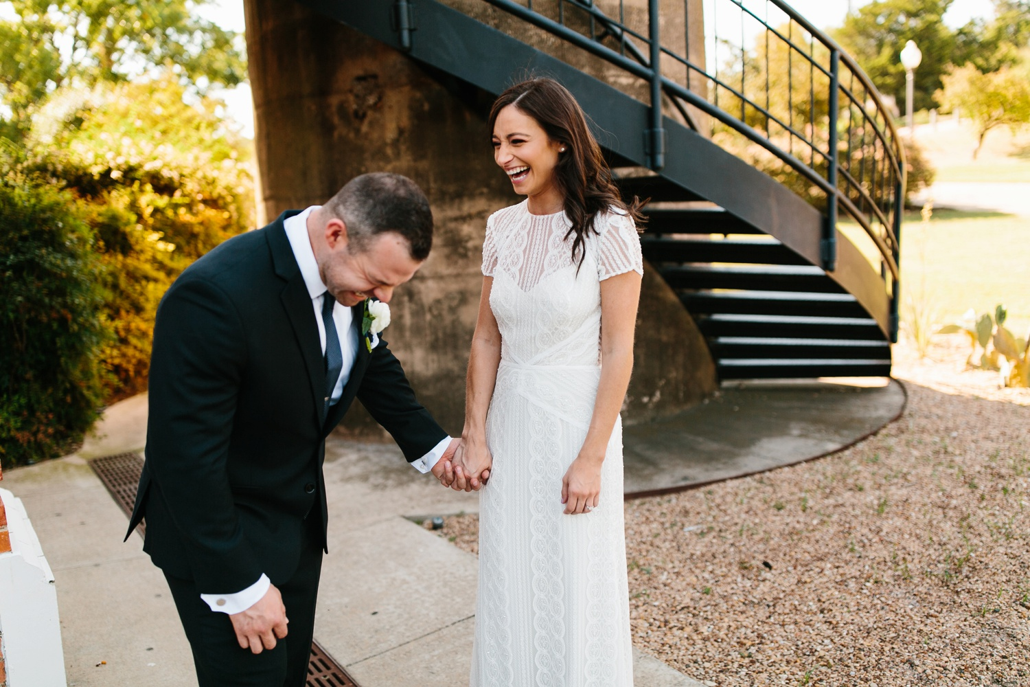 Kadee + Tyler | a raw, emotional wedding at the Filter Building on White Rock Lake in Dallas, TX by North Texas Wedding Photographer, Rachel Meagan Photography 090