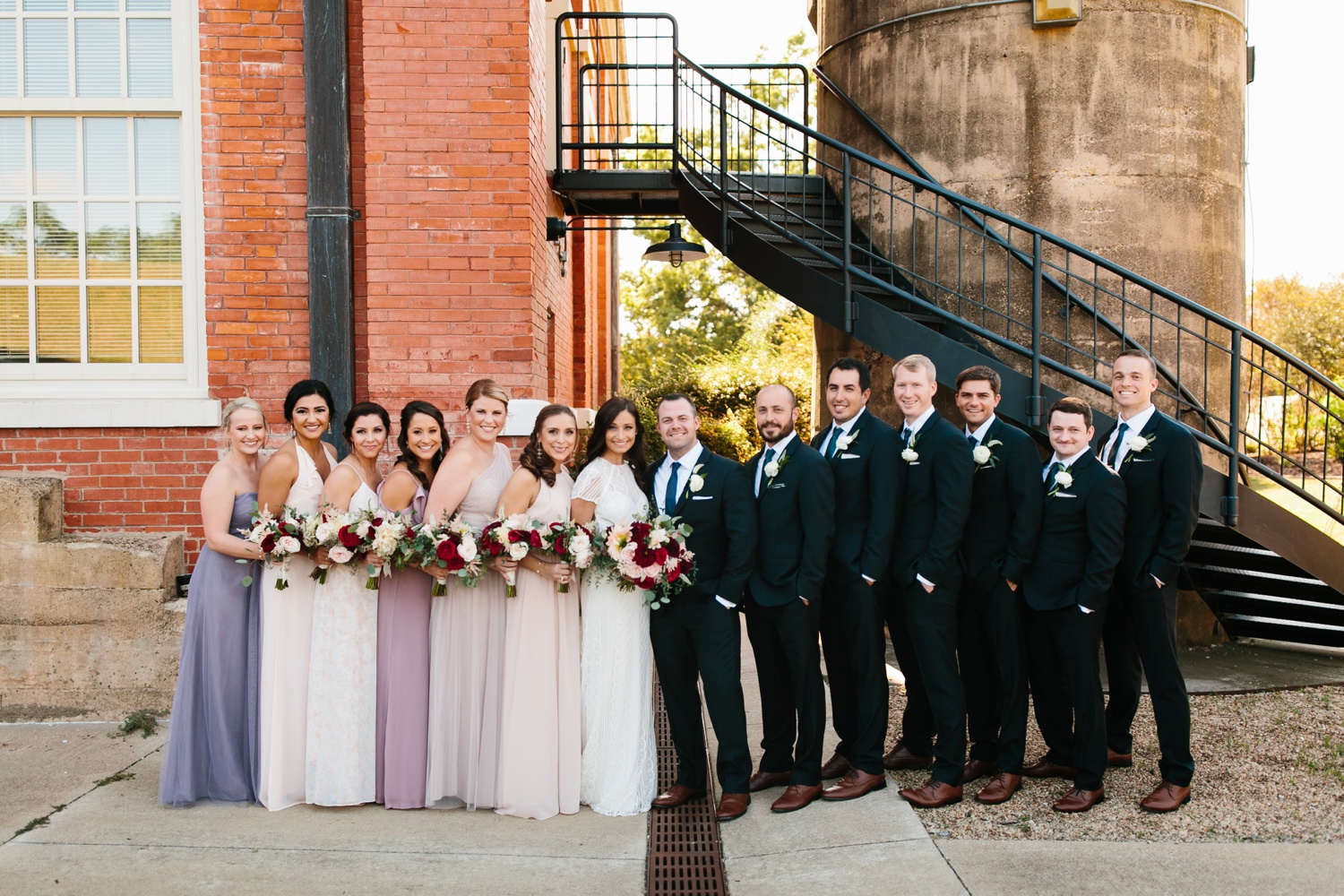 Kadee + Tyler | a raw, emotional wedding at the Filter Building on White Rock Lake in Dallas, TX by North Texas Wedding Photographer, Rachel Meagan Photography 091