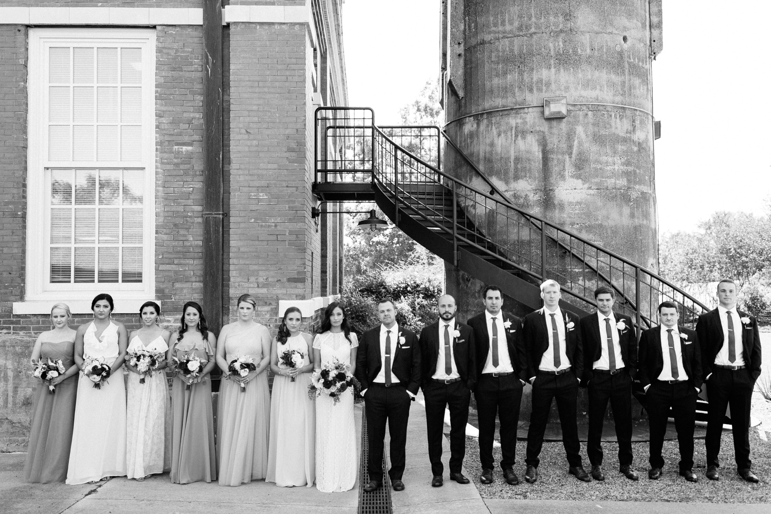 Kadee + Tyler | a raw, emotional wedding at the Filter Building on White Rock Lake in Dallas, TX by North Texas Wedding Photographer, Rachel Meagan Photography 092