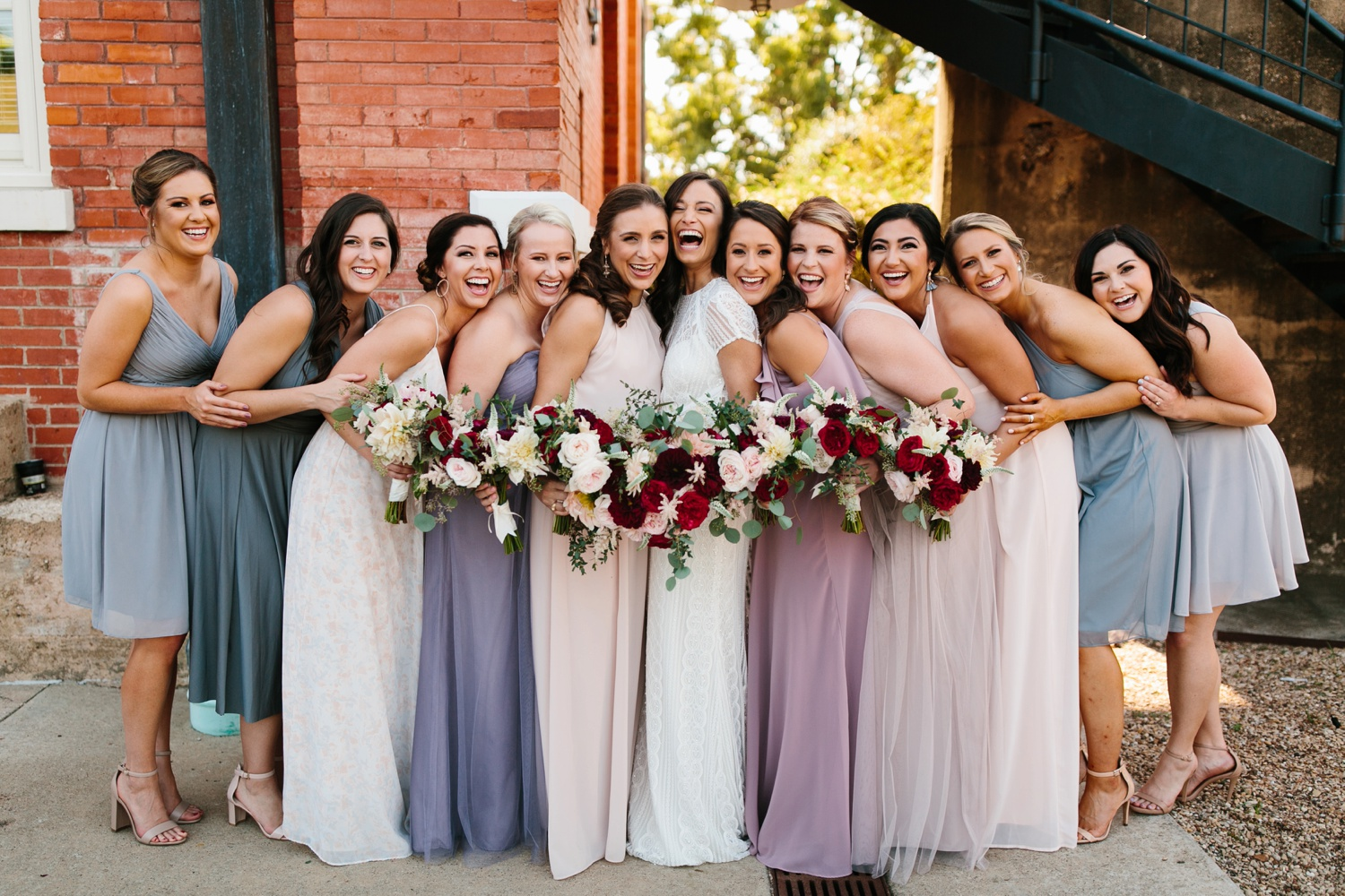 Kadee + Tyler | a raw, emotional wedding at the Filter Building on White Rock Lake in Dallas, TX by North Texas Wedding Photographer, Rachel Meagan Photography 094