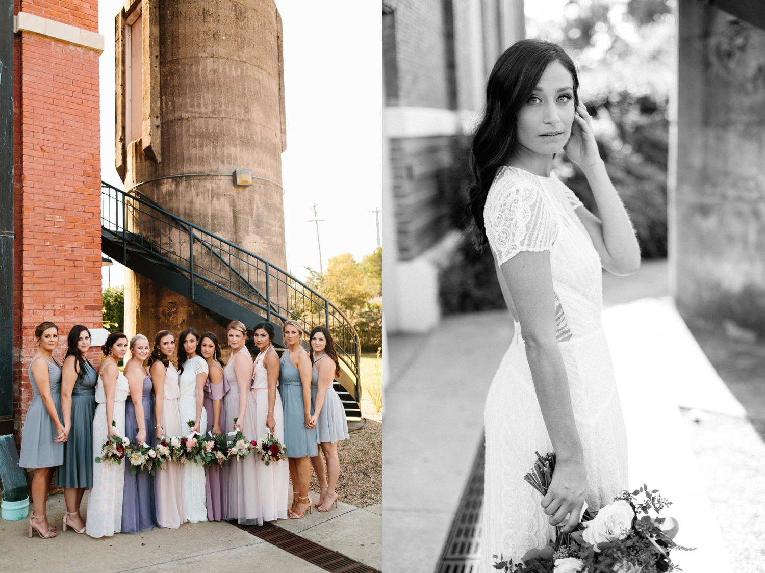 Kadee + Tyler | a raw, emotional wedding at the Filter Building on White Rock Lake in Dallas, TX by North Texas Wedding Photographer, Rachel Meagan Photography 095