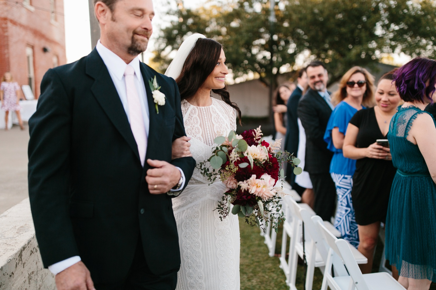 Kadee + Tyler | a raw, emotional wedding at the Filter Building on White Rock Lake in Dallas, TX by North Texas Wedding Photographer, Rachel Meagan Photography 122