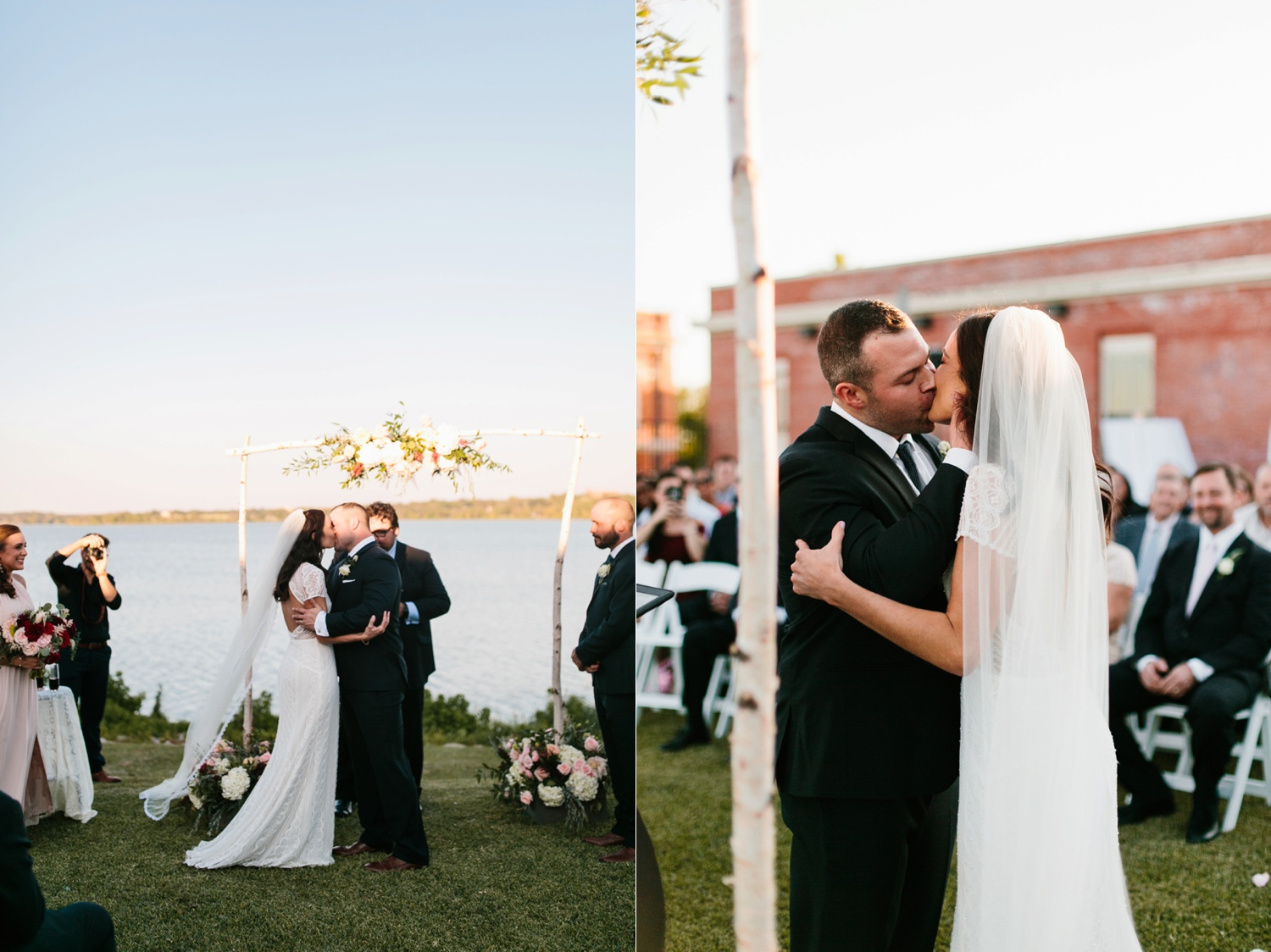 Kadee + Tyler | a raw, emotional wedding at the Filter Building on White Rock Lake in Dallas, TX by North Texas Wedding Photographer, Rachel Meagan Photography 145