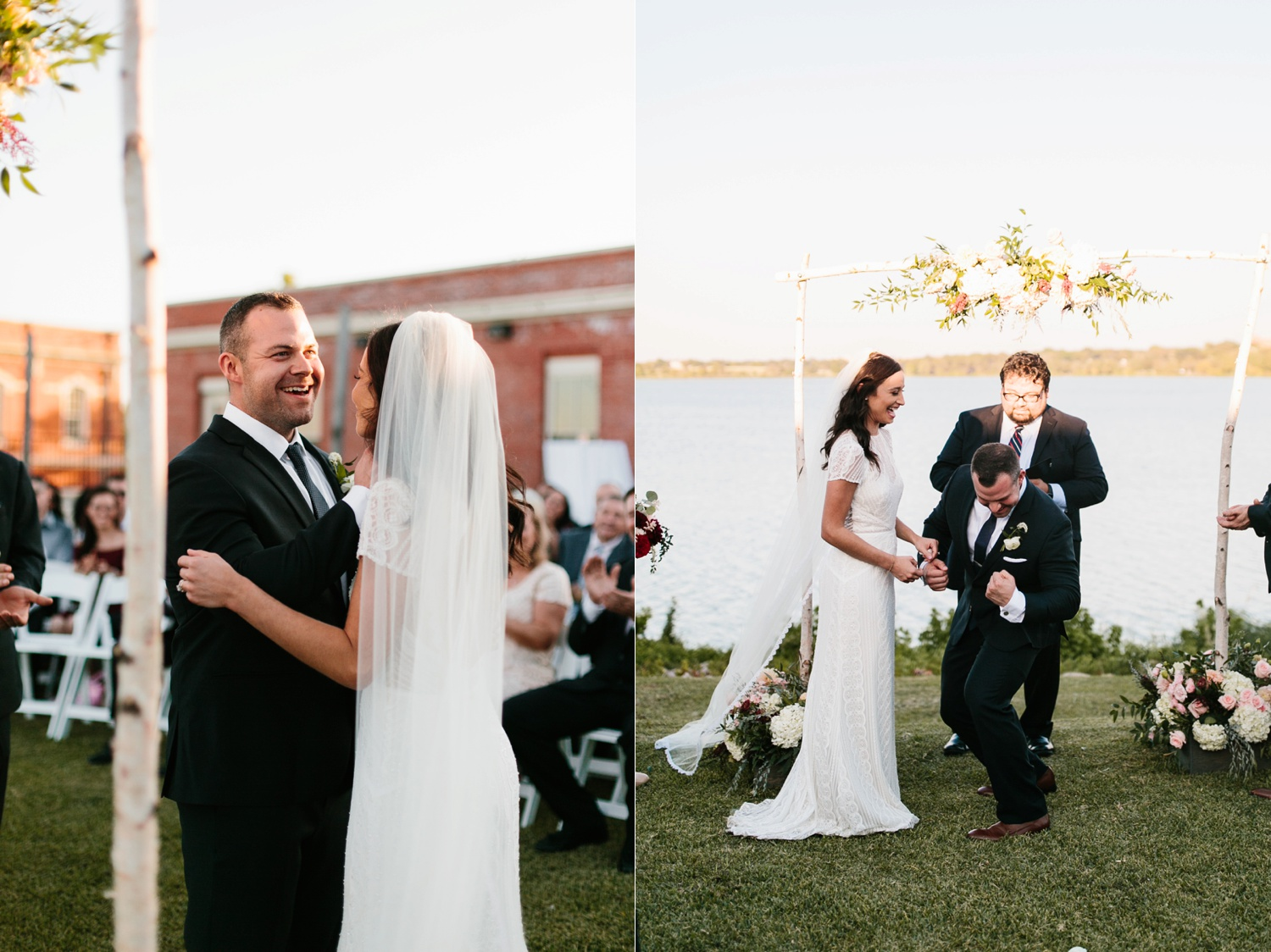 Kadee + Tyler | a raw, emotional wedding at the Filter Building on White Rock Lake in Dallas, TX by North Texas Wedding Photographer, Rachel Meagan Photography 147