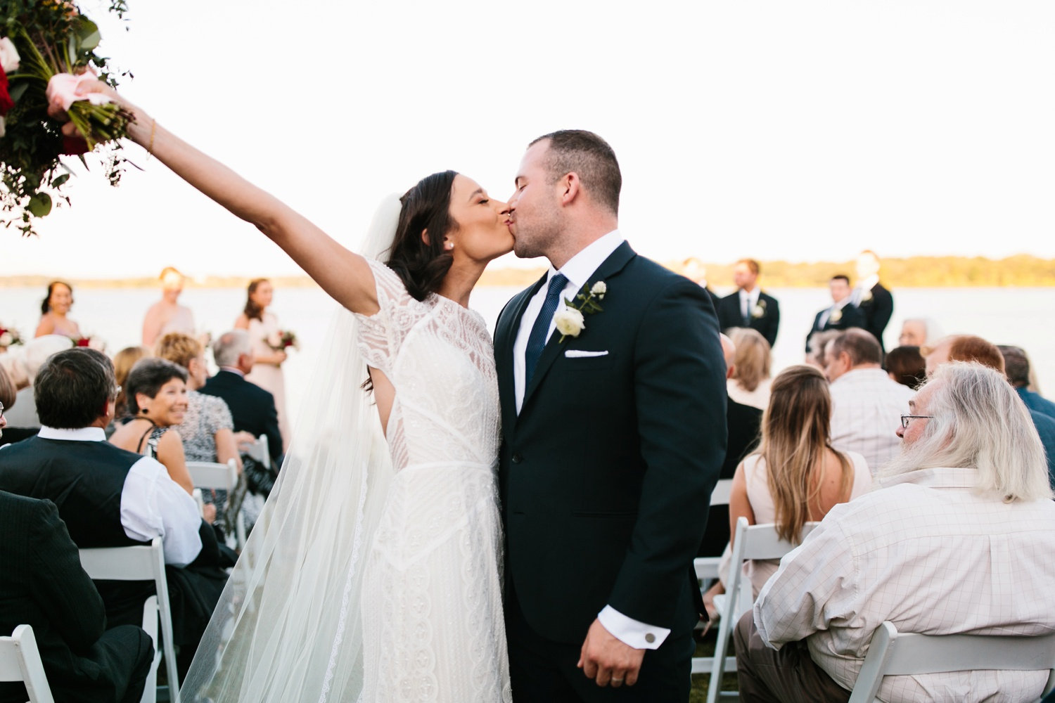 Kadee + Tyler | a raw, emotional wedding at the Filter Building on White Rock Lake in Dallas, TX by North Texas Wedding Photographer, Rachel Meagan Photography 149