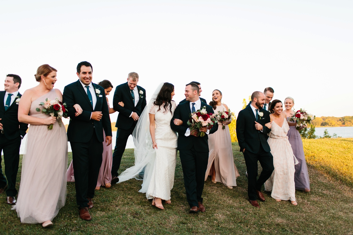 Kadee + Tyler | a raw, emotional wedding at the Filter Building on White Rock Lake in Dallas, TX by North Texas Wedding Photographer, Rachel Meagan Photography 157