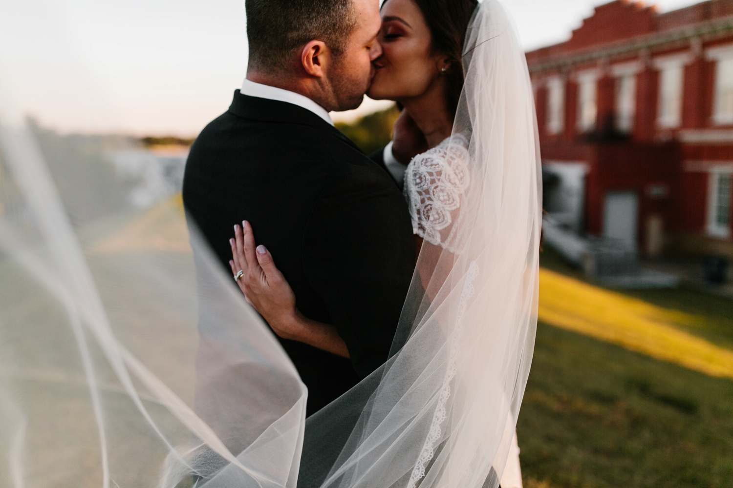 Kadee + Tyler | a raw, emotional wedding at the Filter Building on White Rock Lake in Dallas, TX by North Texas Wedding Photographer, Rachel Meagan Photography 162