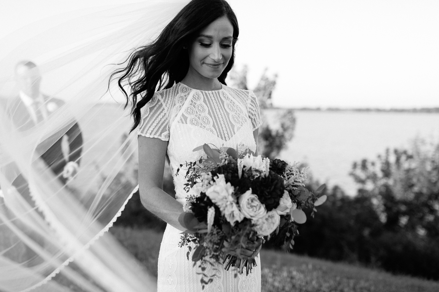 Kadee + Tyler | a raw, emotional wedding at the Filter Building on White Rock Lake in Dallas, TX by North Texas Wedding Photographer, Rachel Meagan Photography 163
