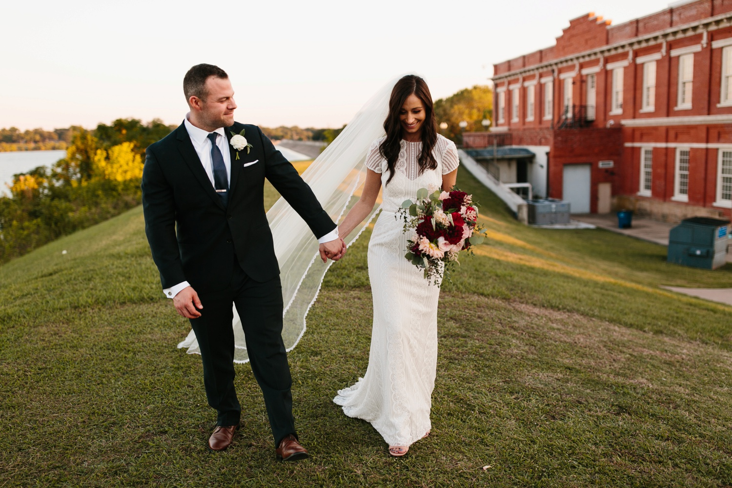 Kadee + Tyler | a raw, emotional wedding at the Filter Building on White Rock Lake in Dallas, TX by North Texas Wedding Photographer, Rachel Meagan Photography 170