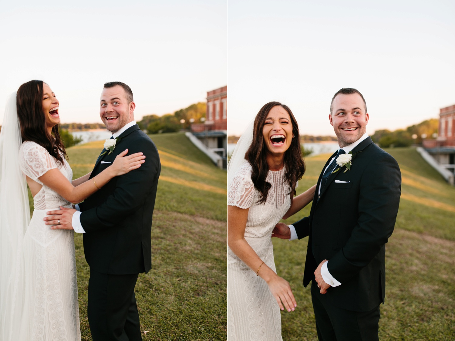 Kadee + Tyler | a raw, emotional wedding at the Filter Building on White Rock Lake in Dallas, TX by North Texas Wedding Photographer, Rachel Meagan Photography 171