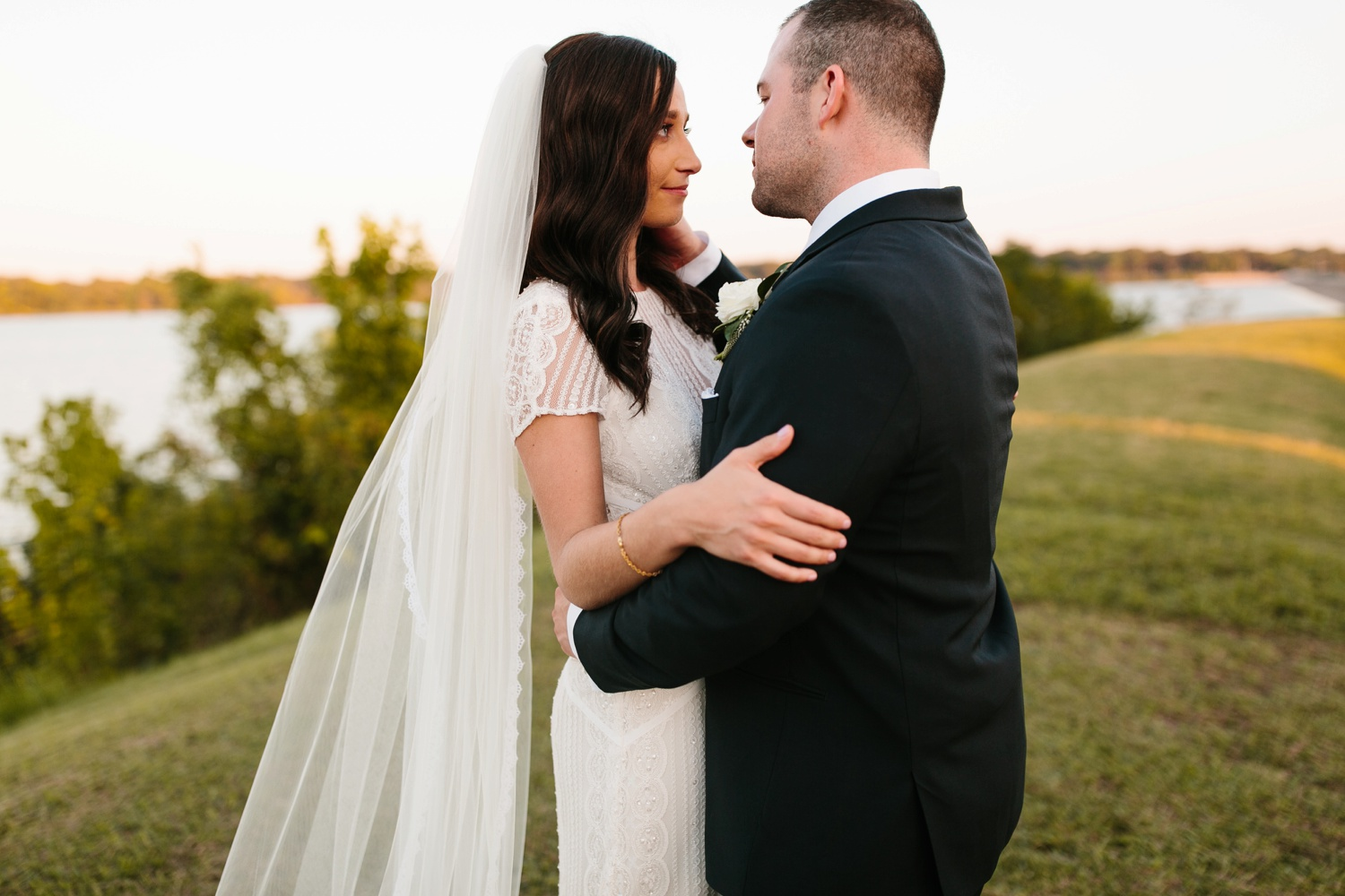 Kadee + Tyler | a raw, emotional wedding at the Filter Building on White Rock Lake in Dallas, TX by North Texas Wedding Photographer, Rachel Meagan Photography 172