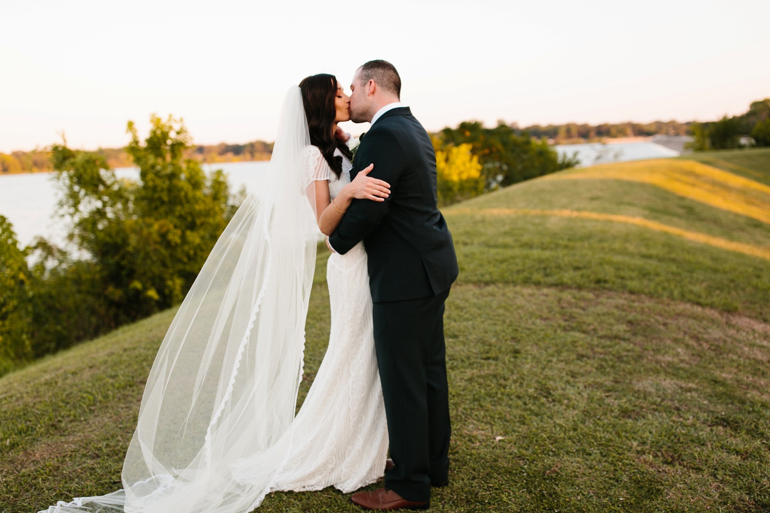 Kadee + Tyler | a raw, emotional wedding at the Filter Building on White Rock Lake in Dallas, TX by North Texas Wedding Photographer, Rachel Meagan Photography 173