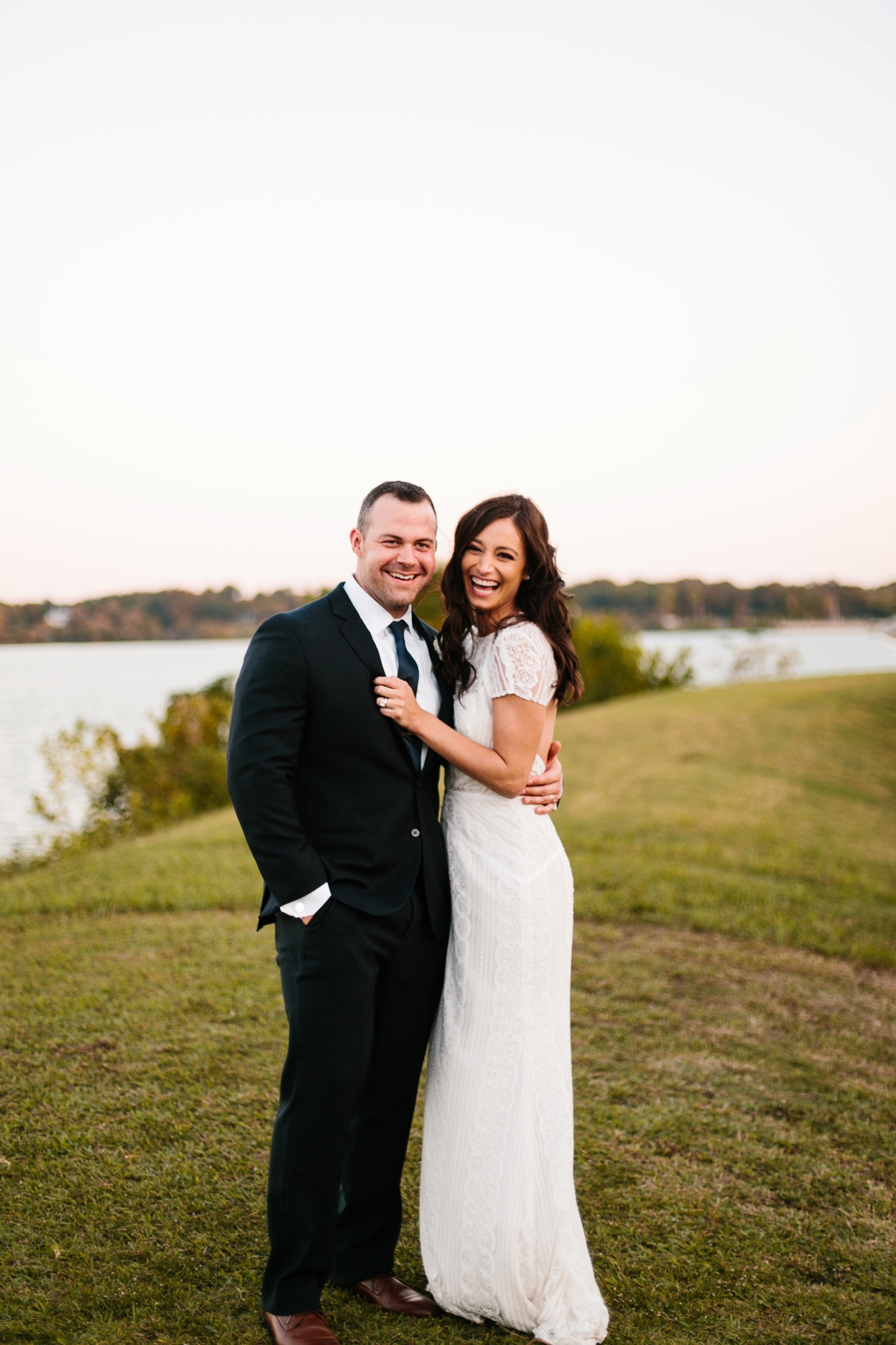 Kadee + Tyler | a raw, emotional wedding at the Filter Building on White Rock Lake in Dallas, TX by North Texas Wedding Photographer, Rachel Meagan Photography 181