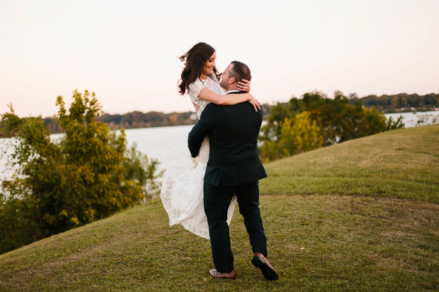 Kadee + Tyler | a raw, emotional wedding at the Filter Building on White Rock Lake in Dallas, TX by North Texas Wedding Photographer, Rachel Meagan Photography 183